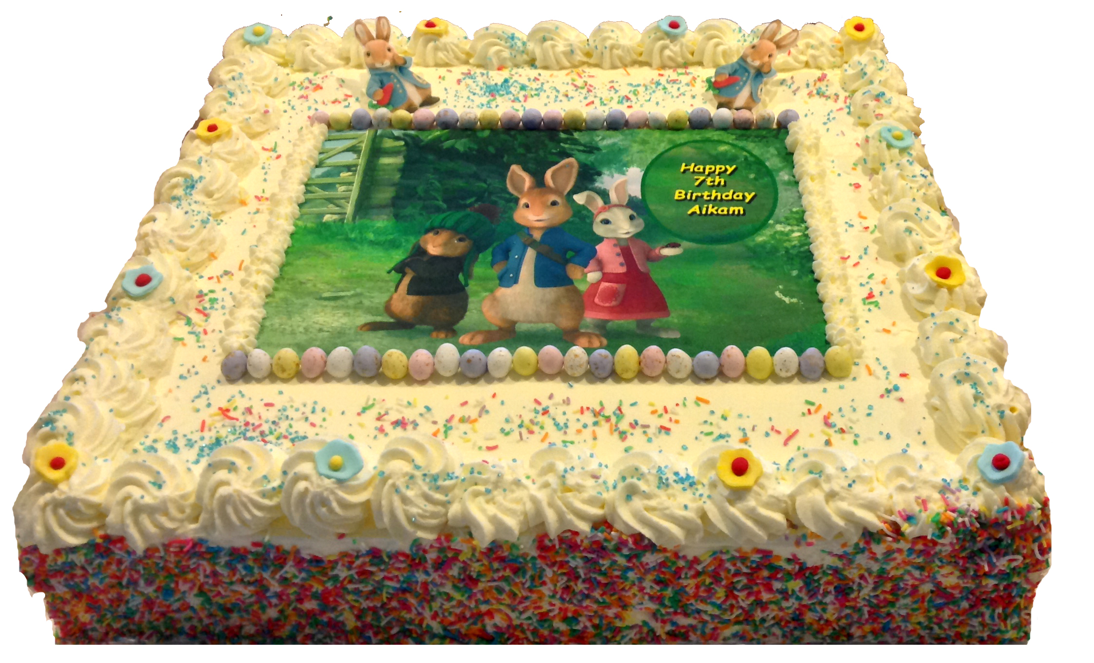 Peter Rabbit at French Haven Patisserie - Bakery at Craigieburn Highlands